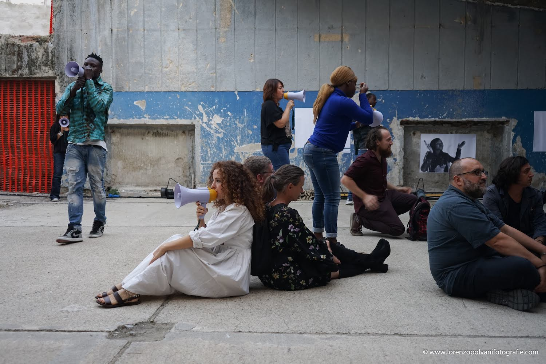 01 Rivers di Yuval Avital 2018 al Tempo Reale festival - foto di Lorenzo Polvani
