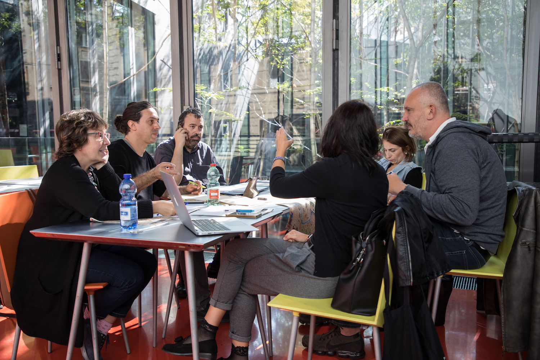 01 yuval e think tank a Macro foto Valerio Sammartino