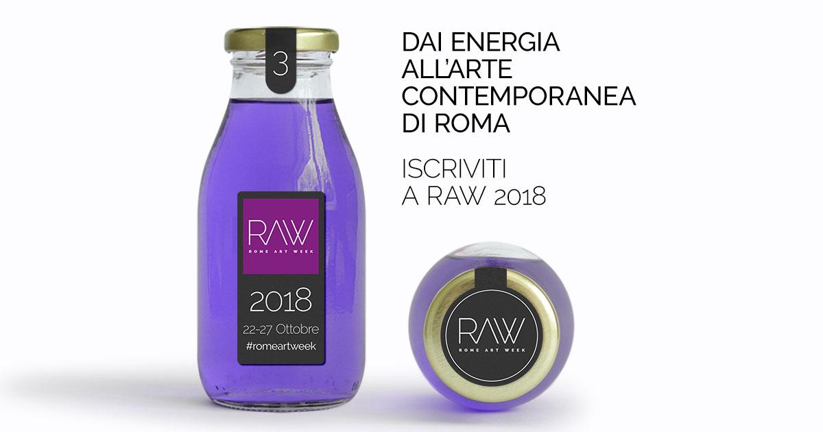 Rome Art Week 2018 - 22-27 ottobre 2018 | Iscrizioni fino al 15 settembre