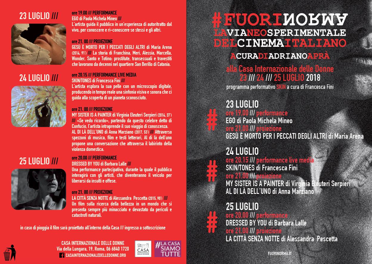 Dressed by you di Barbara Lalle e Roberto Di Matteo - Festival Fuorinorma Casa Internazionale delle Donne Roma